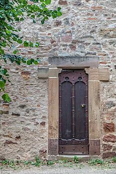 W Chris Fooshee - A door in the wall in Obernai