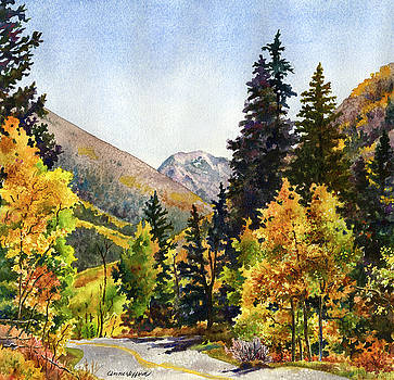 A Drive In the Mountains by Anne Gifford