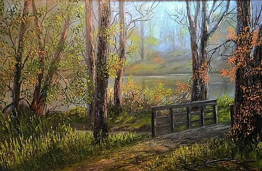 A fall day  by Michael Mrozik