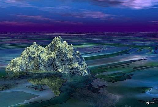 A Fantasy Seascape by Julie Grace