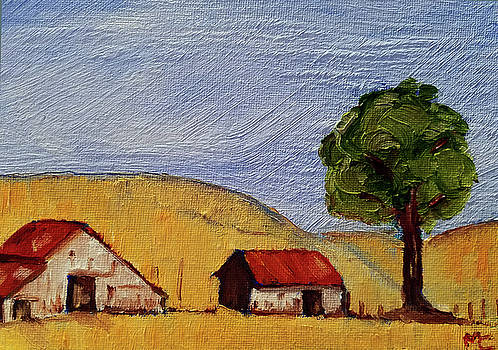 A Farm in California WineCountry by Mary Capriole