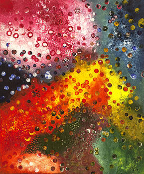 A Field of Energy 3 by Dalal Farah Baird