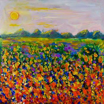 A Field of Flowers #1 by Maxim Komissarchik