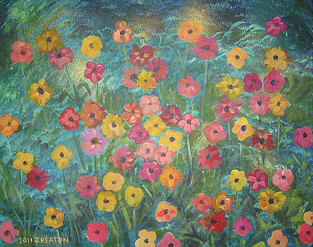A Field of Flowers by John Keaton
