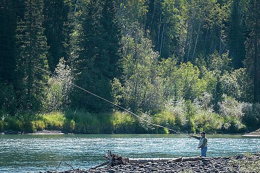 A Fine Day Fishing by Mary Lee Dereske