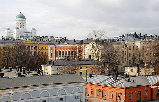 A Finnish Cityscape by Timothy Model