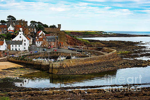 A Fishing Village Named Crail in East Nuek of Fife Scotland by MaryJane Armstrong