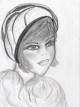A Flapper in Cap by Sonya Chalmers