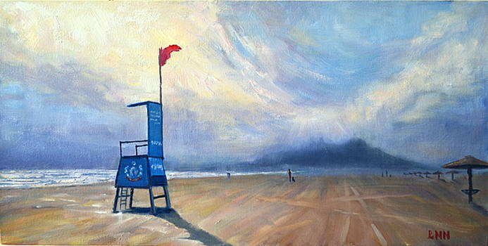 A Foggy Day by Ningning Li