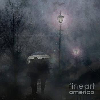 A Foggy Night Romance by LemonArt Photography