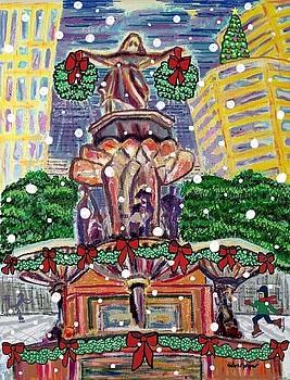 A Fountain Square Holiday by Diane Pape