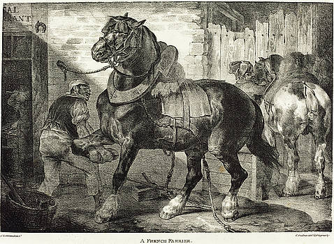 Theodore Gericault - A French Farrier