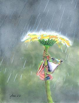 A Frog's Umbrella by Jolene Stinson Williams
