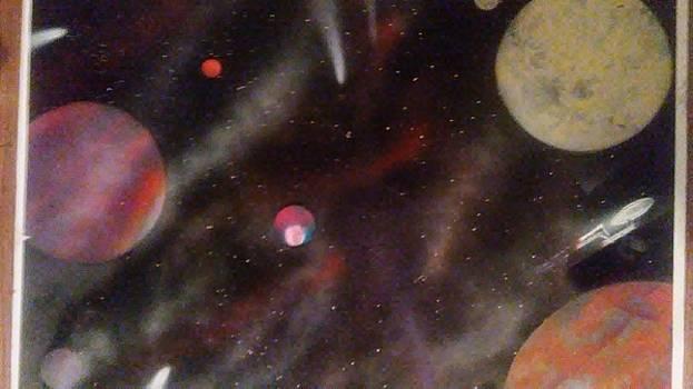 A galaxy far far away by Richard Perez