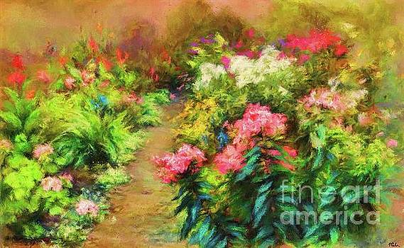 A Garden In Bloom by Tina LeCour