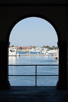 A Gateway to the St. Augustine Municipal Marina by Linda Geiger