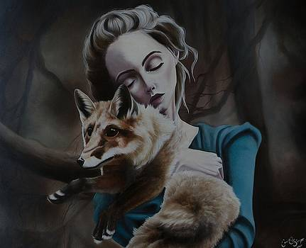 A Girl and her Fox by Camille Singer