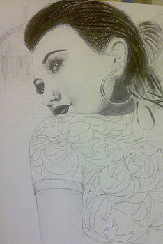 A Girl by Reza Naqvi