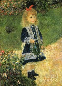 Renoir - A Girl With a Watering Can