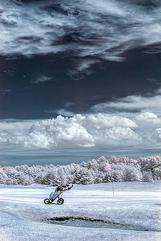 A Golf Course In Infrared by Guy Whiteley