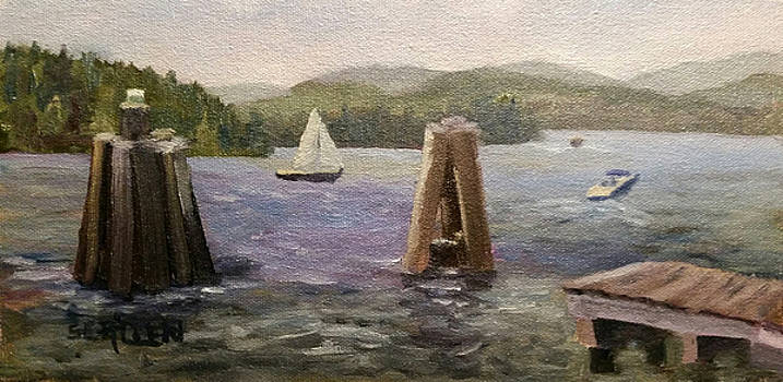 A Good Day for Boating by Sharon E Allen