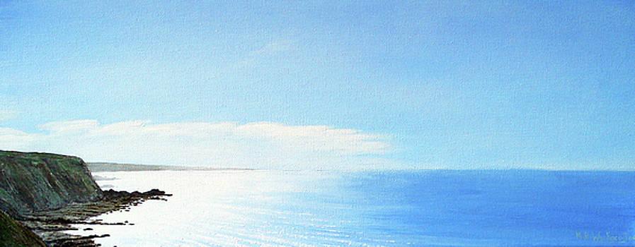 A Hartland Seascape by Mark Woollacott