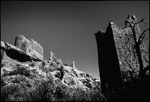A Haunting View from Ruins at Hovenweep by John Brink
