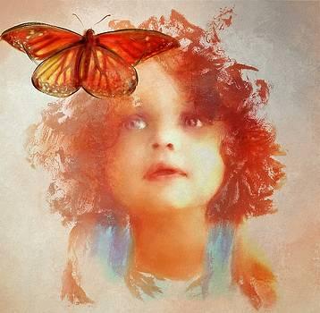 A Helpful Butterfly by Richard Okun