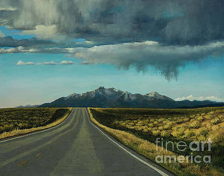 A Highway to the Rockies by Xenia Sease