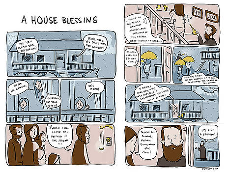 A House Blessing by Laura Wilson