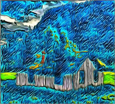 A House of Sticks by Mario Carini