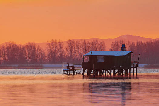 A hut on the water by Davor Zerjav