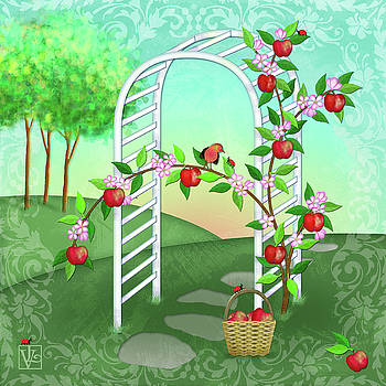 A is for Arbor and Apples by Valerie Drake Lesiak