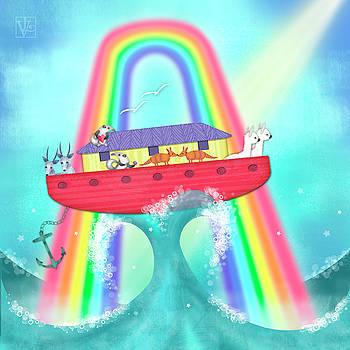 A is for Ark by Valerie Drake Lesiak