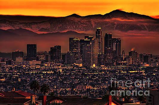 Los Angeles Dawn by Nick Carlson