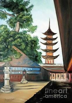 Derek Rutt - A Japanese Courtyard