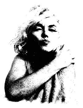 A Kiss from Marilyn by Kenneth-Edward Swinscoe