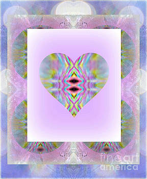 WBK - A Kiss Of Spring Heart Montage Pastel