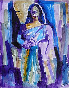 A Lady by Abin Raj