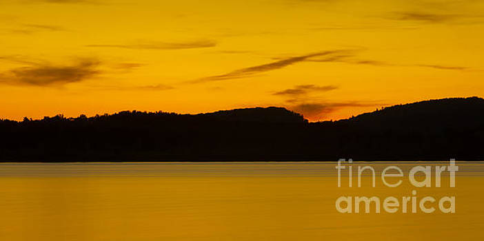 A Lakes Sunset 2 by Brian Mollenkopf