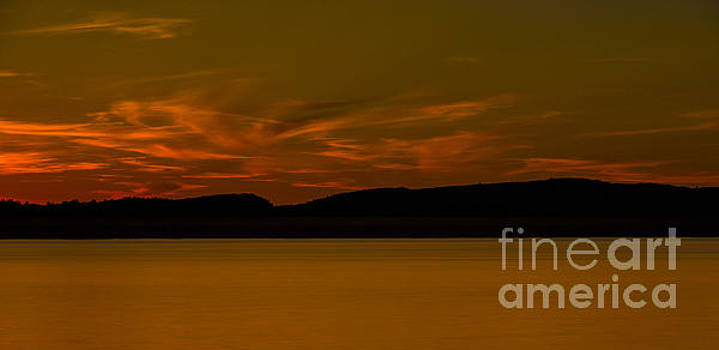 A Lakes Sunset 3 by Brian Mollenkopf