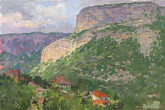 A Landscape in the Vicinity of Maloe Sadovoe  by Denis Chernov