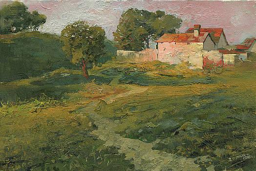 A Landscape in Vicinity of Strijigorod by Denis Chernov