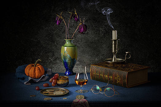 A Last Brandy by Yves Keroack