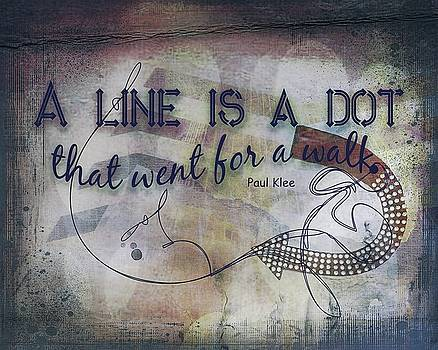 A Line Is A Dot by Terry Fleckney