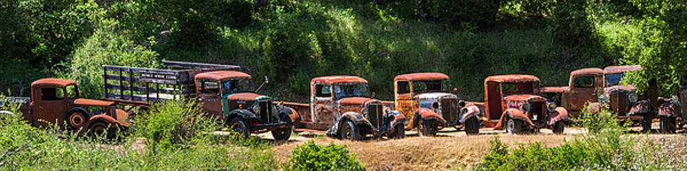 A Line Of Rust by Roger Mullenhour