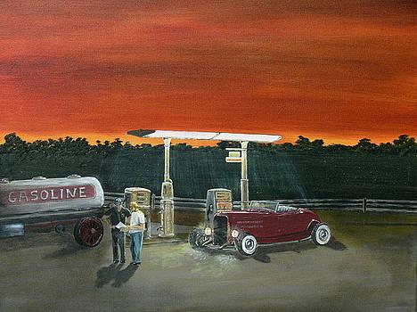 A Little Break On The Road... by Chris Lambert