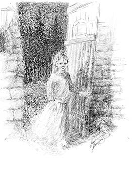 A little fairy. The Entrance to a Fairytale by Misha Lapitskiy