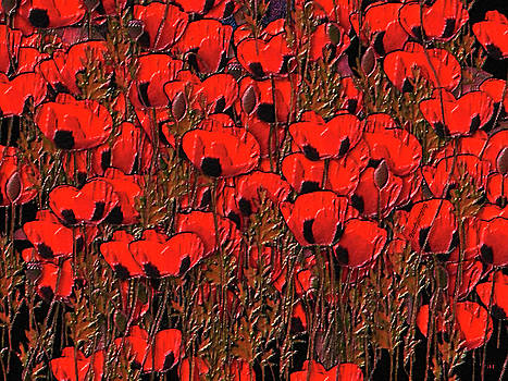 A little family gathering of Poppies by Sherri's - Of Palm Springs