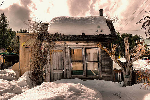 A little house in Roslyn Washington by Jeff Swan
